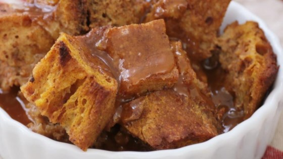 Photo of Pumpkin Pie Bread Pudding by Mary