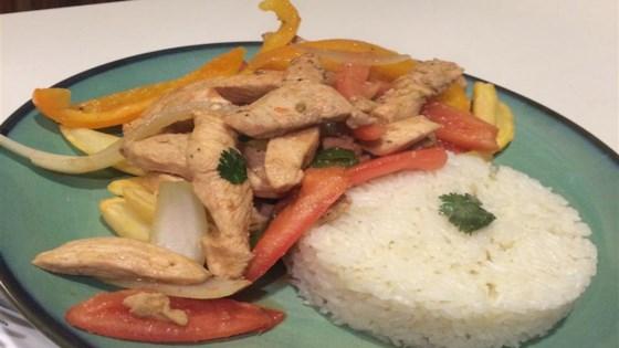 Photo of Pollo Saltado (Peruvian-Style Chicken Stir-Fry) by Lauren W