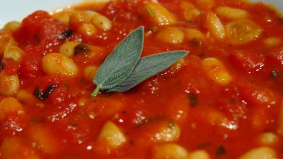 Photo of Bean and Tomato Stew with Sage by amanda1432