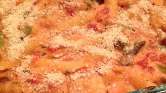 Photo of Cheesy Shrimp Alfredo Bake by Erin Schroeder