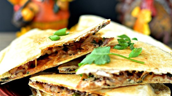 Thanksgiving Quesadilla