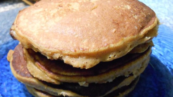 Photo of Healthy Pumpkin Banana Pancakes (Paleo Option) by Amanda Hawkins