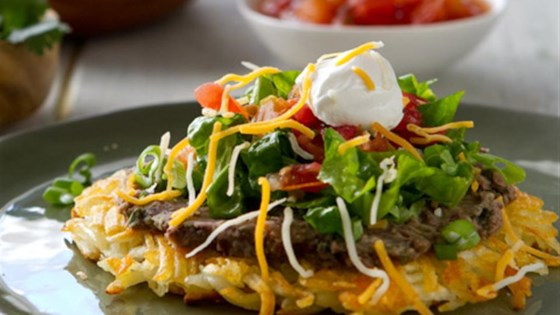 Photo of Hash Brown Tostadas by Potato Goodness