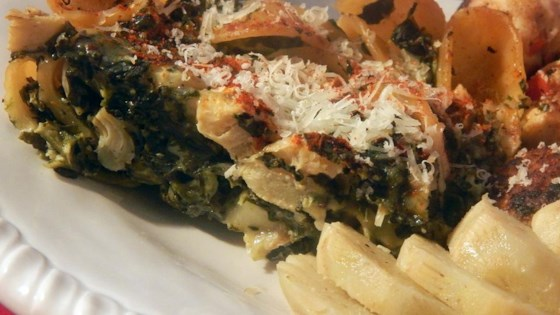 Cheesy Spinach Casserole