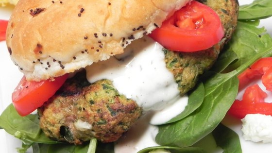Photo of Greek Turkey Burgers by Jill