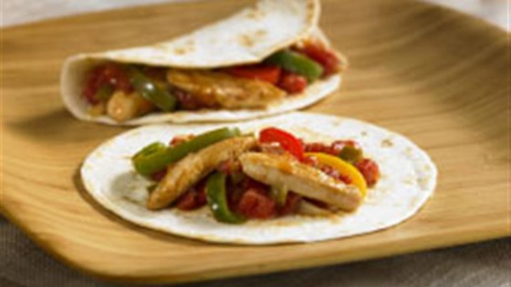 Easy Chicken Fajitas from RO*TEL