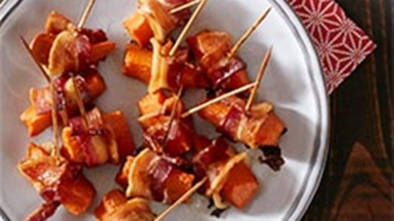 Photo of Bacon Wrapped Sweet Potato Bites by Reynolds Kitchens