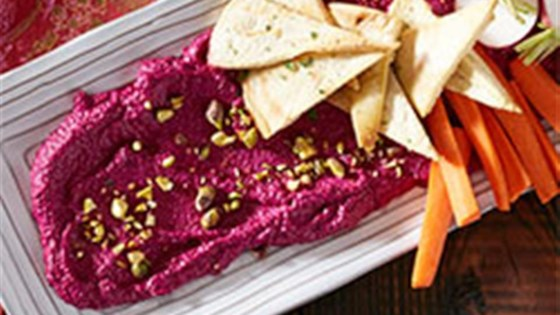 Photo of Roasted Beet and Goat Cheese Dip with Pistachios by Reynolds Kitchens®