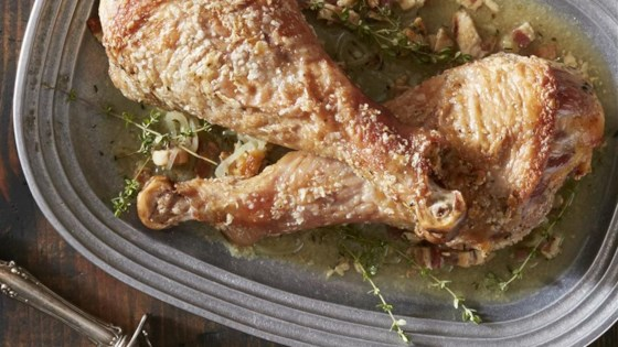 Photo of Skillet Turkey with Bacon and White Wine by Reynolds Kitchens®