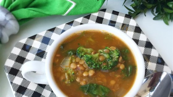 Easy Spinach Lentil Soup