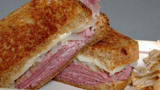 Photo of Reuben Sandwich by Beverly Burton