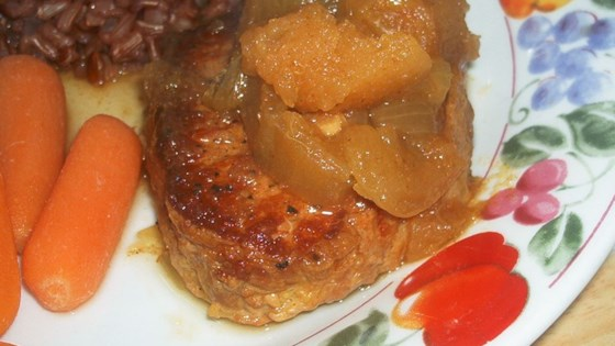 Photo of Pork Chops with Apple Curry Sauce by EBSEPKE