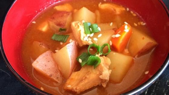 Dakdoritang korean spicy chicken stew recipe allrecipes photo of dakdoritang korean spicy chicken stew by jason lamar forumfinder Choice Image