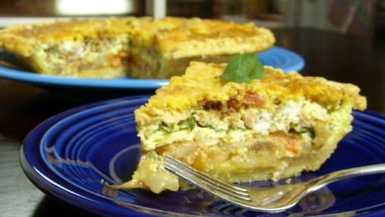 Photo of Tomato and Basil Quiche by Karen Griffin