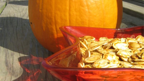 Pumpkin Seeds with Cinnamon and Salt