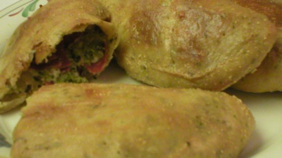 Photo of Broccoli, Pepperoni and Three Cheese Calzones by MARBALET