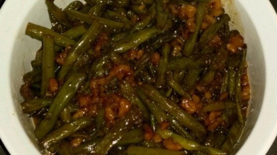 Photo of Caramelized Green Beans with Walnuts by jayceeboyer