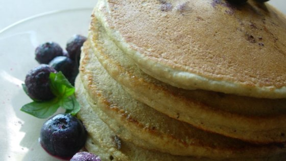Photo of Whole Wheat Blueberry Pancakes by brossettelewis