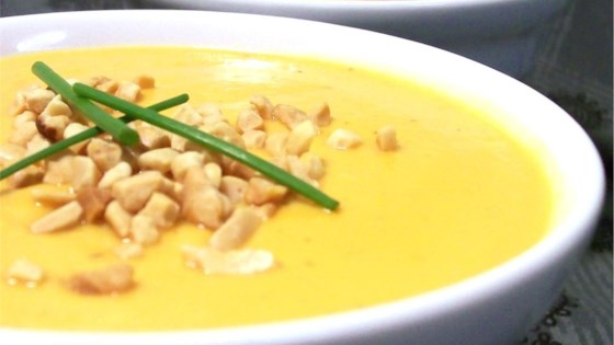 Photo of Creamy Sweet Potato With Ginger Soup by USA WEEKEND columnist Pam Anderson