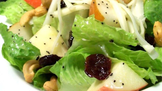 winter fruit salad with lemon poppyseed dressing review by