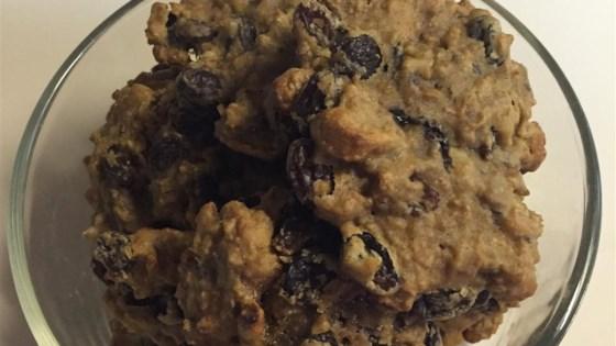 Photo of No Sugar Raisin Cookies by Kelly