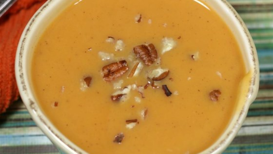 Photo of Quick and Easy Sweet Potato Soup by ajennerjahn