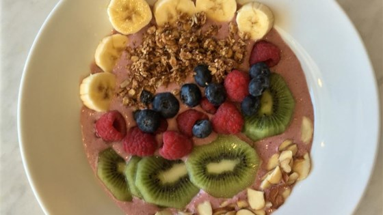 Photo of Berry Smoothie Bowl by Lindsey