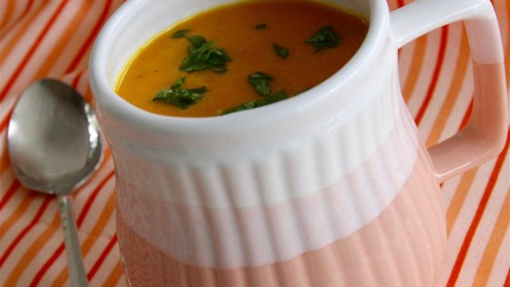 Photo of Carrot-Ginger Soup by Ann