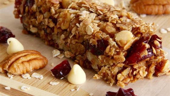 Photo of Cranberry Nut Oatmeal Granola Bars by MzTravelista