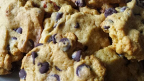 Persimmon Chocolate Chip Cookies