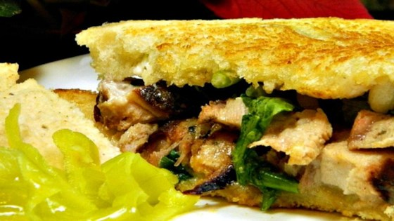 Photo of Herbed Grilled Cheese and Pork Sandwiches by Smithfield®