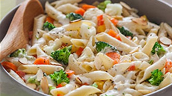 Photo of Penne Pasta With Vegetables Recipe by Hidden Valley® Ranch