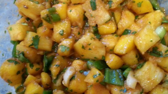 Photo of Pineapple and Mango Salsa by Katie