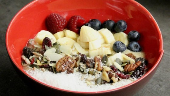 Photo of Banana Coconut Smoothie Bowl by Alli Shircliff