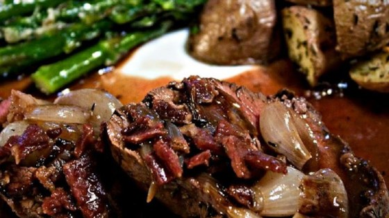 Photo of Beef Tenderloin With Roasted Shallots by Christine L.