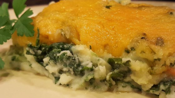 Photo of Potato Spinach Casserole by LISA B7