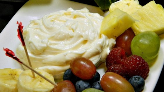 Photo of Lemony Cream Cheese Fruit Dip by mjsmitsz