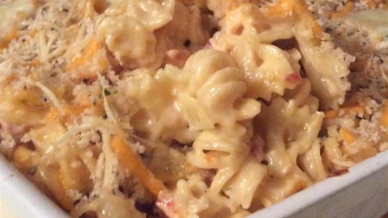 Photo of Lobster Mac with Cheddar, Brie, and Gruyere by Web Spinner