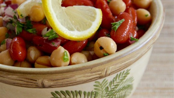 Photo of Middle Eastern Bean Salad by gubby420