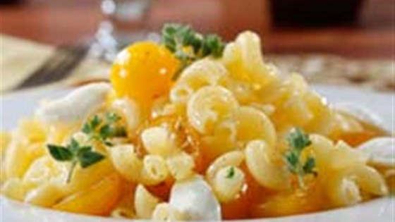 Photo of Gluten Free Elbows Tomato & Mozzarella Pasta Salad by Barilla
