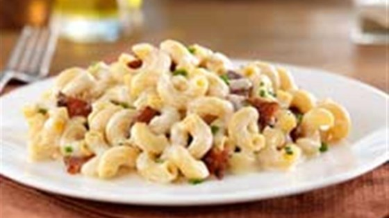 Photo of Gluten Free Elbows Fontina Mac and Cheese with Bacon by Barilla