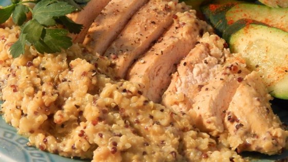Photo of Quinoa and Honey Mustard Chicken Slow Cooker Meal by Bestfoodist