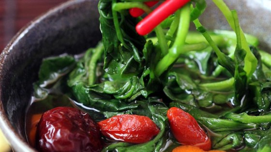 Photo of Easy Asian Watercress Soup by VeggieCravings