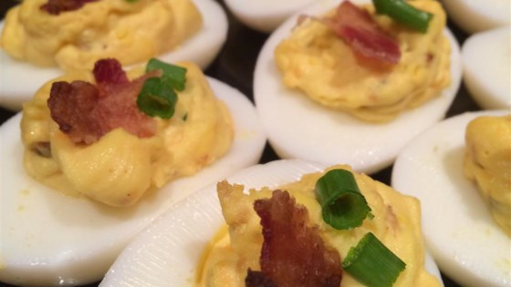 Photo of Bacon Cheddar Deviled Eggs by USEREMILY3260