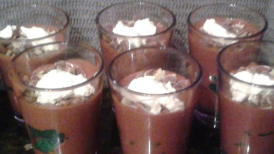 Photo of Blender Chocolate Mousse by JANET BUMGARNER