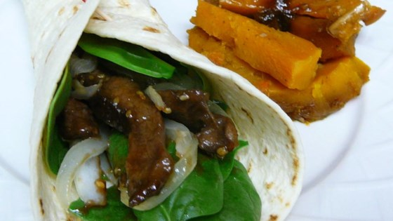 Photo of Sesame Lime Steak Wraps by LINDA W.