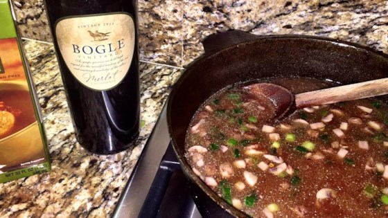 Photo of Coq Au Vin Broth Fondue by gerke627