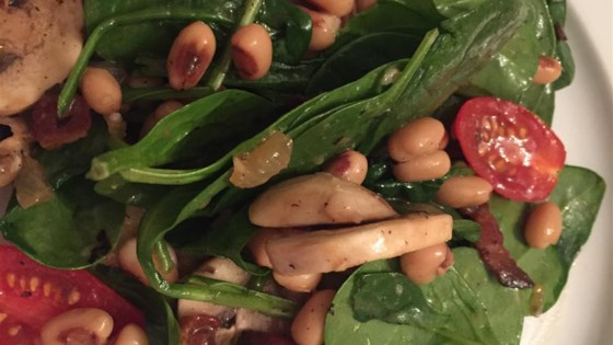 Spinach Salad with Hot Bacon Dressing Recipe