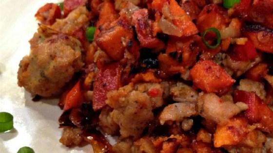 Photo of Sweet Potato and Pastrami Hash by rquill67
