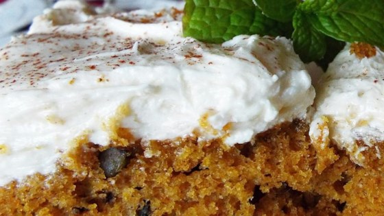 Pumpkin Bars With Cream Cheese Frosting Recipe Allrecipes Com